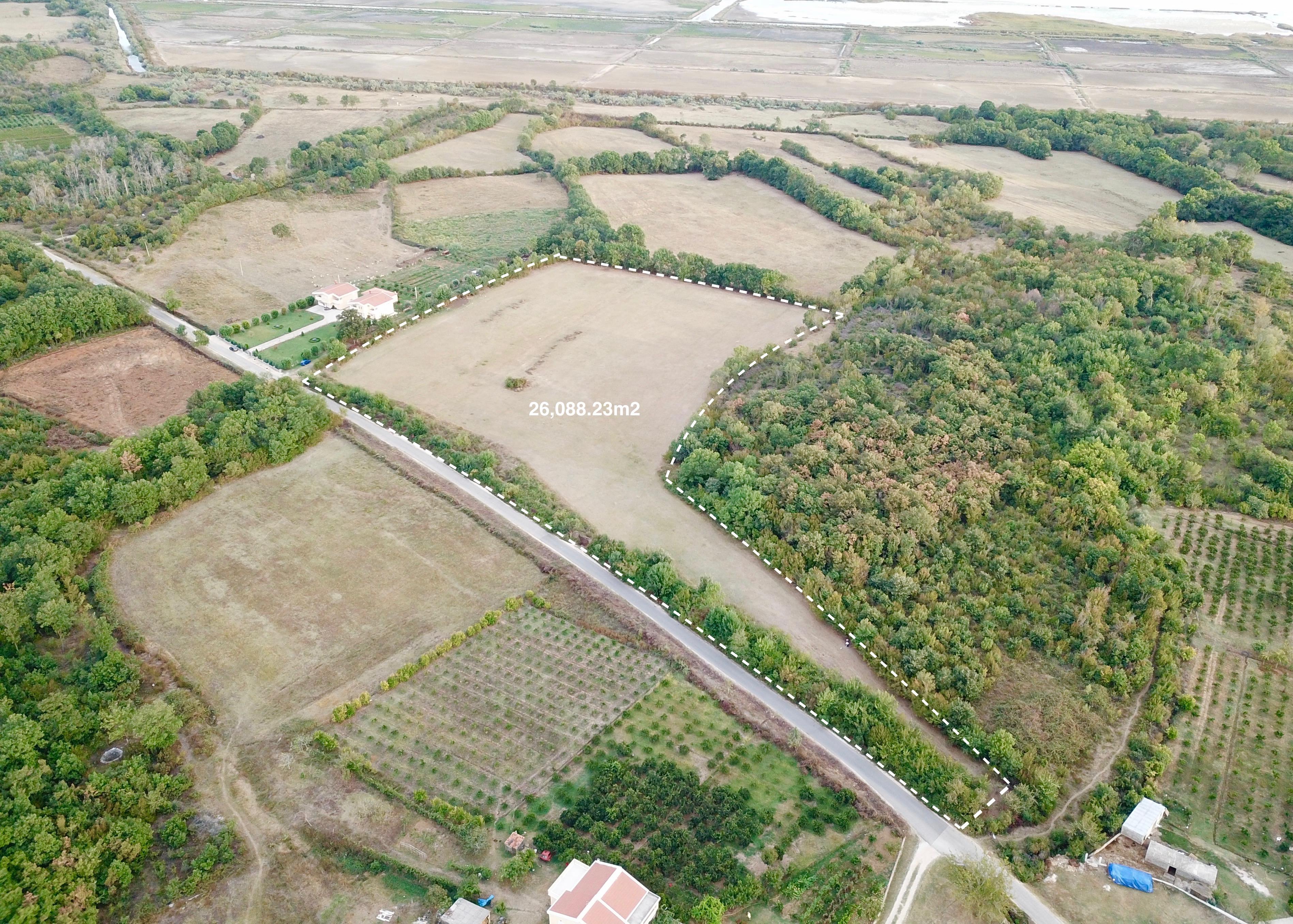 Agricultural land for sale in Zoganje, Ulcinj, Montenegro