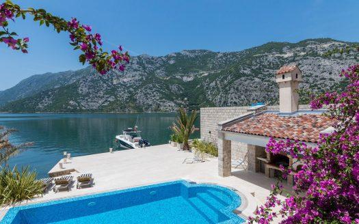 luxury waterfront villa for sale kotor
